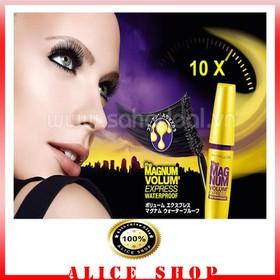 Mascara Maybelline Magnum Volum Express Làm Dày Mi 10 Lần 9.2ml - mcr1231