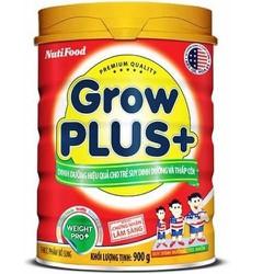 Sữa Grow Plus+ đỏ 900g NutiFood MẪU MỚI date 2021