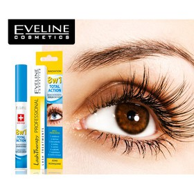 Tinh Chất Dưỡng Mi Eveline 8 in 1 Total Action Lash Therapy professional - 3205385694