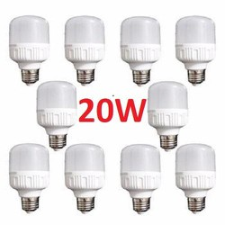 combo 10 bóng đèn Led 20W cao cấp tiết kiệm điện