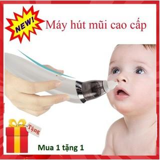 Máy hút mũi, Dụng cụ hút mũi trẻ em, Máy hút mũi An toàn cho trẻ sơ sinh, Tặng thêm dao tỉa chân mày cho mẹ trị giá 20K - Máy hút mũi thumbnail