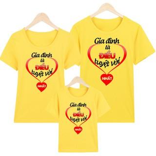 áo thun gia đình - áo thun gia đình PGDM34 thumbnail
