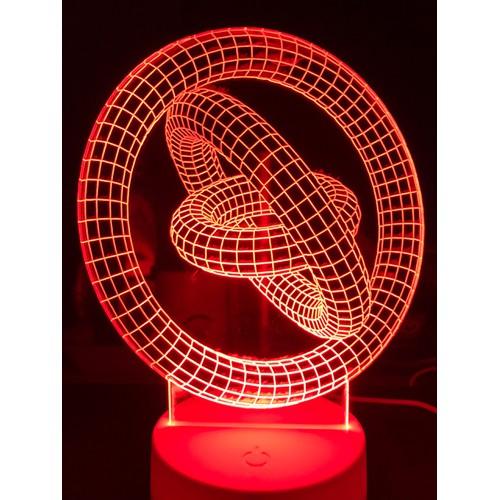 Đèn led 7 màu vòng xoay vô cực quà tặng đèn trang trí đèn để bàn đèn phòng ngủ thiết kế cắt khắc theo yêu cầu - 21023312 , 24137567 , 15_24137567 , 129000 , Den-led-7-mau-vong-xoay-vo-cuc-qua-tang-den-trang-tri-den-de-ban-den-phong-ngu-thiet-ke-cat-khac-theo-yeu-cau-15_24137567 , sendo.vn , Đèn led 7 màu vòng xoay vô cực quà tặng đèn trang trí đèn để bàn đèn p