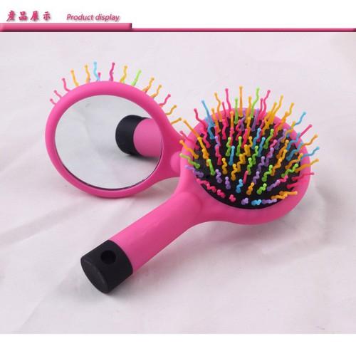 Lược cầu vòng kèm gương soi chuyên dành tóc giả, tóc thật, tóc nối [kèm video].màu hồng siêu xinh. lược chuyên tóc giả, lược chải tóc, lược kèm gương, lược tóc giả - 20536982 , 23409510 , 15_23409510 , 35000 , Luoc-cau-vong-kem-guong-soi-chuyen-danh-toc-gia-toc-that-toc-noi-kem-video.mau-hong-sieu-xinh.-luoc-chuyen-toc-gia-luoc-chai-toc-luoc-kem-guong-luoc-toc-gia-15_23409510 , sendo.vn , Lược cầu vòng kèm gương