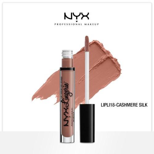 Son kem lì nyx lingerie liquid matte lipstick lipli05 beauty mark - màu nâu socola - 18926505 , 23389484 , 15_23389484 , 190000 , Son-kem-li-nyx-lingerie-liquid-matte-lipstick-lipli05-beauty-mark-mau-nau-socola-15_23389484 , sendo.vn , Son kem lì nyx lingerie liquid matte lipstick lipli05 beauty mark - màu nâu socola