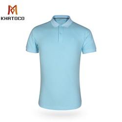 Áo thun nam Khatoco polo màu trơn A2MN398R2-VNMA041-2012-N