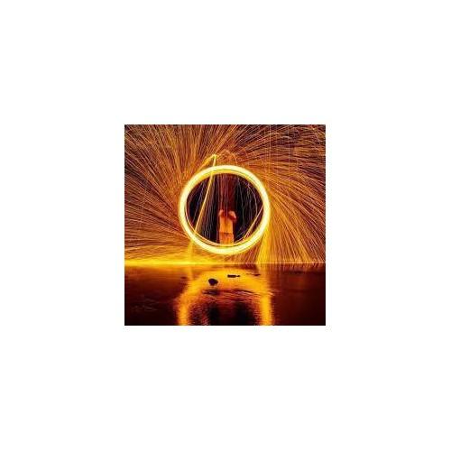 Bán sỉ bùi nhùi thép steel wool tạo vòng tròn lửa chụp ảnh phơi sáng nghệ thuật