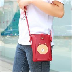 Túi nữ [Freeship 49k] Túi đeo chéo gấu