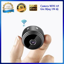 Camera Mini Wifi A9 FULL HD 1080P, Camera Mini A9, Camera Giám Sát Wifi,  Camera Wifi an ninh
