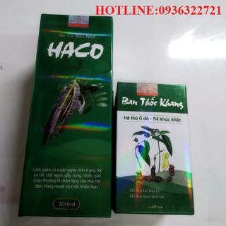 1 dầu gội HACO 300ml và 1 Ban Thốc Khang 60 viên - HACO01 thumbnail