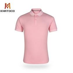 Áo thun nam Khatoco polo màu trơn A2MN398R2-VNMA038-2012-N