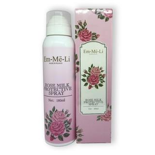 Xịt trang điểm - Xịt trang điểm dưỡng da chiết xuất hoa hồng Em_Me-Li Xuất xứ Pháp - TP1904006 thumbnail