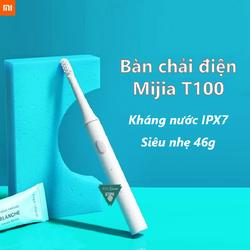 [CHÍNH HÃNG] Bàn chải điện Xiaomi Mijia T100 - Bàn Chải Đánh Răng Mijia T100 - T100