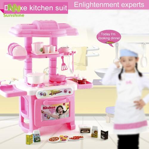 Bộ đồ chơi dụng cụ nhà bếp nấu ăn 32 món dành cho bé