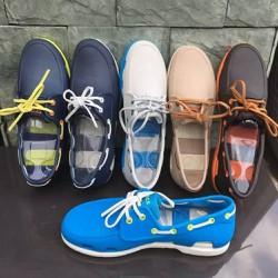 Giày nhựa -crocs- đi mưa  Beachline Boat Nam chống hôi chân. giầy crocs. chống trơn trượt. Giày -crocs- đi biển, đi phượt