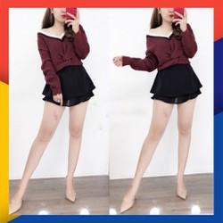 Chân Váy Quảng Châu Viền Voan Siêu Hot
