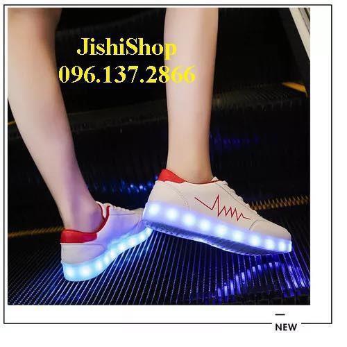 Ntđ giày phát sáng đèn led 7 màu nhịp tim đỏ 11 chế độ nhấp nháy cực kì độc đáo - 18037876 , 23425137 , 15_23425137 , 327125 , Ntd-giay-phat-sang-den-led-7-mau-nhip-tim-do-11-che-do-nhap-nhay-cuc-ki-doc-dao-15_23425137 , sendo.vn , Ntđ giày phát sáng đèn led 7 màu nhịp tim đỏ 11 chế độ nhấp nháy cực kì độc đáo
