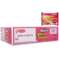 Thùng 24 gói miến thịt bằm Phú Hương 58g