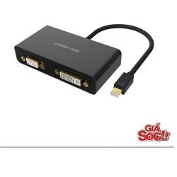 Cáp Mini Displayport sang HDMI + VGA + DVI Ugreen UG-10438,10440