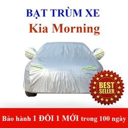 Bạt che phủ xe ô tô Kia Morning - bạt trùm xe hơi 4 chỗ có kèm túi đựng du lịch tiện lợi