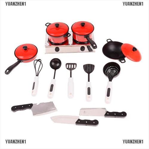 Bộ 13 món đồ chơi nấu ăn nhà bếp cho trẻ em