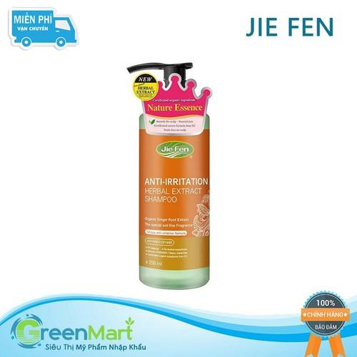 Dầu gội thảo dược organic dành cho da đầu nhạy cảm jie fen anti-irritation shampoo, taiwan 250 ml - 20552027 , 23433736 , 15_23433736 , 188000 , Dau-goi-thao-duoc-organic-danh-cho-da-dau-nhay-cam-jie-fen-anti-irritation-shampoo-taiwan-250-ml-15_23433736 , sendo.vn , Dầu gội thảo dược organic dành cho da đầu nhạy cảm jie fen anti-irritation shampoo,