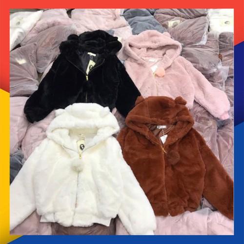 Áo khoác lông mùa đông siêu xinh hàng quảng châu loại 1