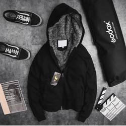 Áo Khoác Nỉ NAM NỮ đều mặc được cực ấm Trong mùa đông lạnh giá