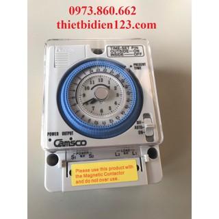 công tắc hẹn giờ cơ thời gian thực 24h - CAMSCO 24H thumbnail