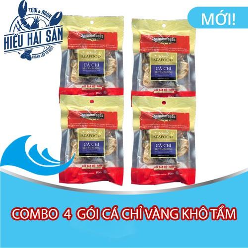 Combo 4 gói cá chỉ vàng khô xẻ tẩm nướng ăn liền hải nam - 20547730 , 23427587 , 15_23427587 , 120000 , Combo-4-goi-ca-chi-vang-kho-xe-tam-nuong-an-lien-hai-nam-15_23427587 , sendo.vn , Combo 4 gói cá chỉ vàng khô xẻ tẩm nướng ăn liền hải nam