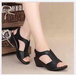 Dép sandal cao gót nữ hot 2019