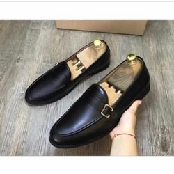 Giày lười da nam cao cấp , đế cao su, mẫu giày công sở đẹp nhất, được kiểm tra hàng.