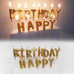 Bộ nến chữ Happy Birthday ,đèn cầy trang trí sinh nhật