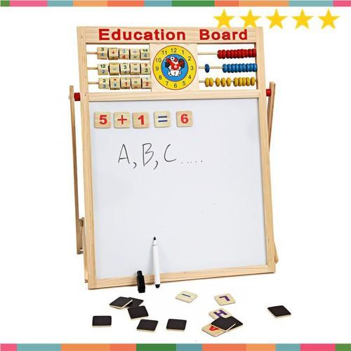 Có sẵn bảng gỗ nam châm giáo dục 2 mặt cho bé viết vẽ học số học chữ cái - 17936737 , 23474293 , 15_23474293 , 196000 , Co-san-bang-go-nam-cham-giao-duc-2-mat-cho-be-viet-ve-hoc-so-hoc-chu-cai-15_23474293 , sendo.vn , Có sẵn bảng gỗ nam châm giáo dục 2 mặt cho bé viết vẽ học số học chữ cái