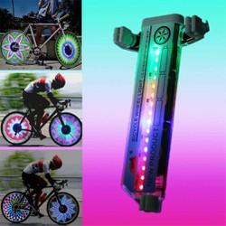 Đèn gắn bánh xe đạp