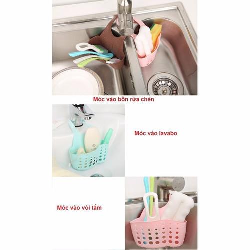 Giỏ treo bồn rửa bát tiện lợi