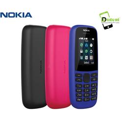 Điện thoại di động NOKIA 105 2 SIM 2019 - Hàng chính hãng