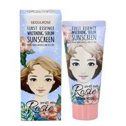 Kem Chống Nắng Seoul Rosie First Essence Whitening
