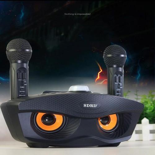 Loa karaoke không dây hình mắt cú sunha âm thanh siêu hay cực chuẩn tặng kèm 2 míc , micro sd 306 , loa bluetooth kèm micro đôi hát cực hay dung lượng pin khủng âm thanh sống động nhiều màu mbs 2079 - 19566081 , 23484467 , 15_23484467 , 740000 , Loa-karaoke-khong-day-hinh-mat-cu-sunha-am-thanh-sieu-hay-cuc-chuan-tang-kem-2-mic-micro-sd-306-loa-bluetooth-kem-micro-doi-hat-cuc-hay-dung-luong-pin-khung-am-thanh-song-dong-nhieu-mau-mbs-2079-15_2348446