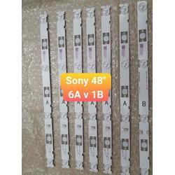 thanh led tivi Sony 48inch giá 1 bộ gồm 7 thanh