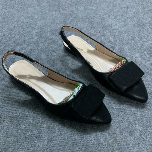 [Xã kho] giày búp bê nữ có quai mũi nhọn