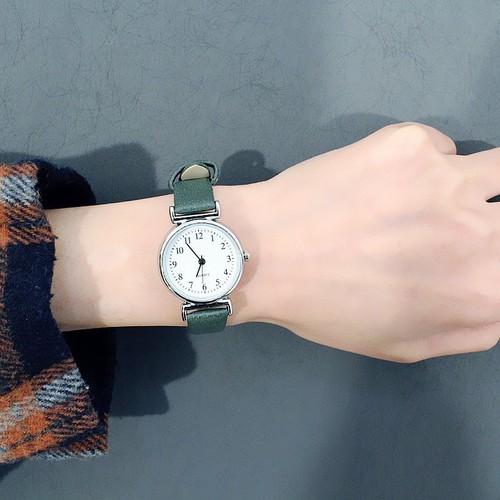 Đồng hồ thời trang nữ viser mặt số qw860