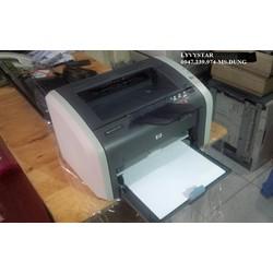 Máy in HP 1010 cũ giá rẻ sử dụng hộp mực 12A in được 2500 trang nạp mực 80k 1 bình - Máy in HP 1010 cũ
