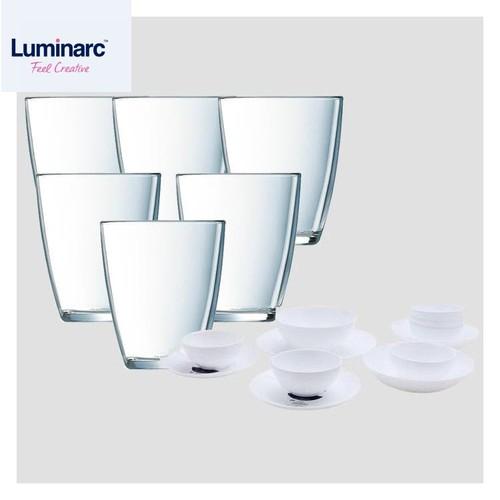 Combo bộ chén bát đĩa diwali luminarc 12 món + bộ 6 ly cao thủy tinh luminarc neo 310ml - 20568785 , 23461084 , 15_23461084 , 929000 , Combo-bo-chen-bat-dia-diwali-luminarc-12-mon-bo-6-ly-cao-thuy-tinh-luminarc-neo-310ml-15_23461084 , sendo.vn , Combo bộ chén bát đĩa diwali luminarc 12 món + bộ 6 ly cao thủy tinh luminarc neo 310ml