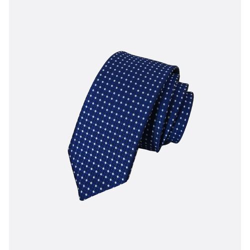 Cà vạt xanh dương đậm chấm bi trắng bản nhỏ 5 cm - 20570491 , 23463518 , 15_23463518 , 80000 , Ca-vat-xanh-duong-dam-cham-bi-trang-ban-nho-5-cm-15_23463518 , sendo.vn , Cà vạt xanh dương đậm chấm bi trắng bản nhỏ 5 cm