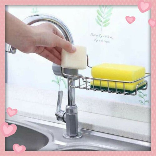 Giá để miếng rửa chén bằng inox - 20561060 , 23448533 , 15_23448533 , 55000 , Gia-de-mieng-rua-chen-bang-inox-15_23448533 , sendo.vn , Giá để miếng rửa chén bằng inox