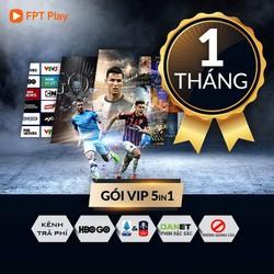E-Voucher Gói Dịch Vụ VIP Xem Truyền Hình Và Phim Trực Tuyến - FPT Play