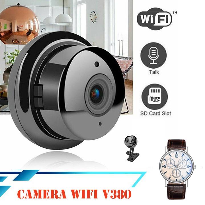 [ Sale Sốc ] Camera WIFI không dây V380 PRO - Tặng đồng hồ đeo tay