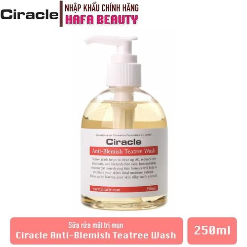 Sữa rửa mặt trị mụn ciracle anti-blemish teatree wash 250ml - 20569120 , 23461486 , 15_23461486 , 418000 , Sua-rua-mat-tri-mun-ciracle-anti-blemish-teatree-wash-250ml-15_23461486 , sendo.vn , Sữa rửa mặt trị mụn ciracle anti-blemish teatree wash 250ml