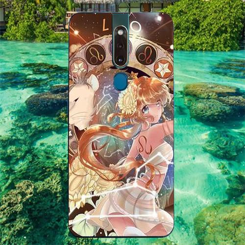 Ốp điện thoại dành cho máy oppo f11 - 811 12 cung hoàng đạo ms chd012